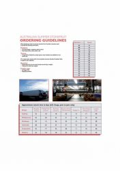 Export Ordering Guidelines English