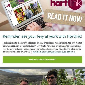 Hort Innovation Newsletter - August 2018