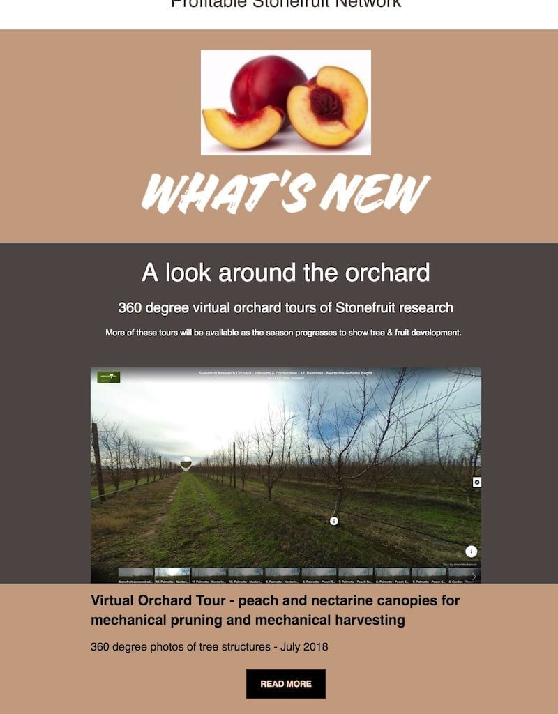 Virtual Orchard Tour