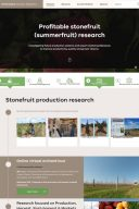 Profitable Stonefruit Research Program