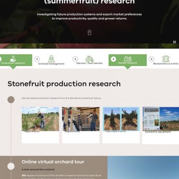 Profitable Stonefruit Research Program