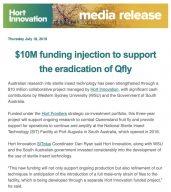 Hort Innovation Media Release 18-07-19